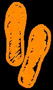 flipflops oranje