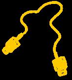usbkabel geel