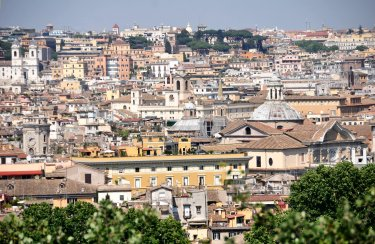 View from Gianicolo hill