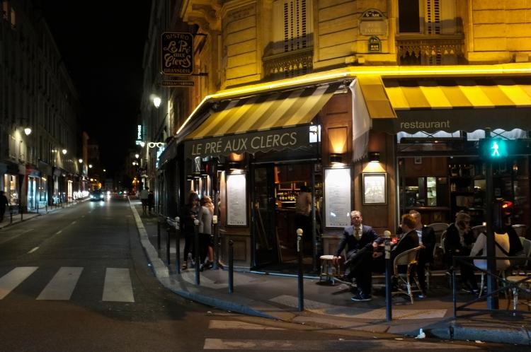 Cafe op de hoek