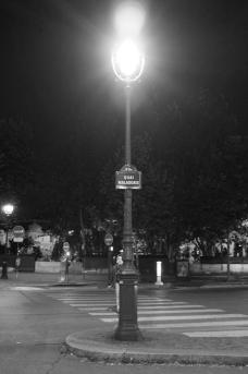 Street lantern Paris
