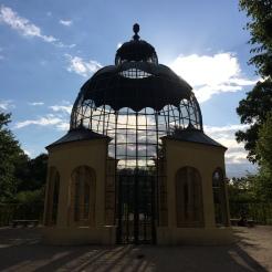 The Taubenturm (dove cage) in the gardens of Schloss Schonbrunn