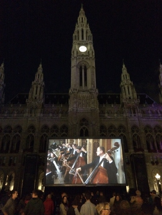 The New Year's Concert screening at the Vienna Film Festival