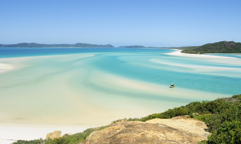 Whitsunday Island sandbanks
