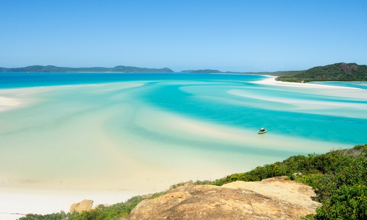 Whitsunday Island sandbanks