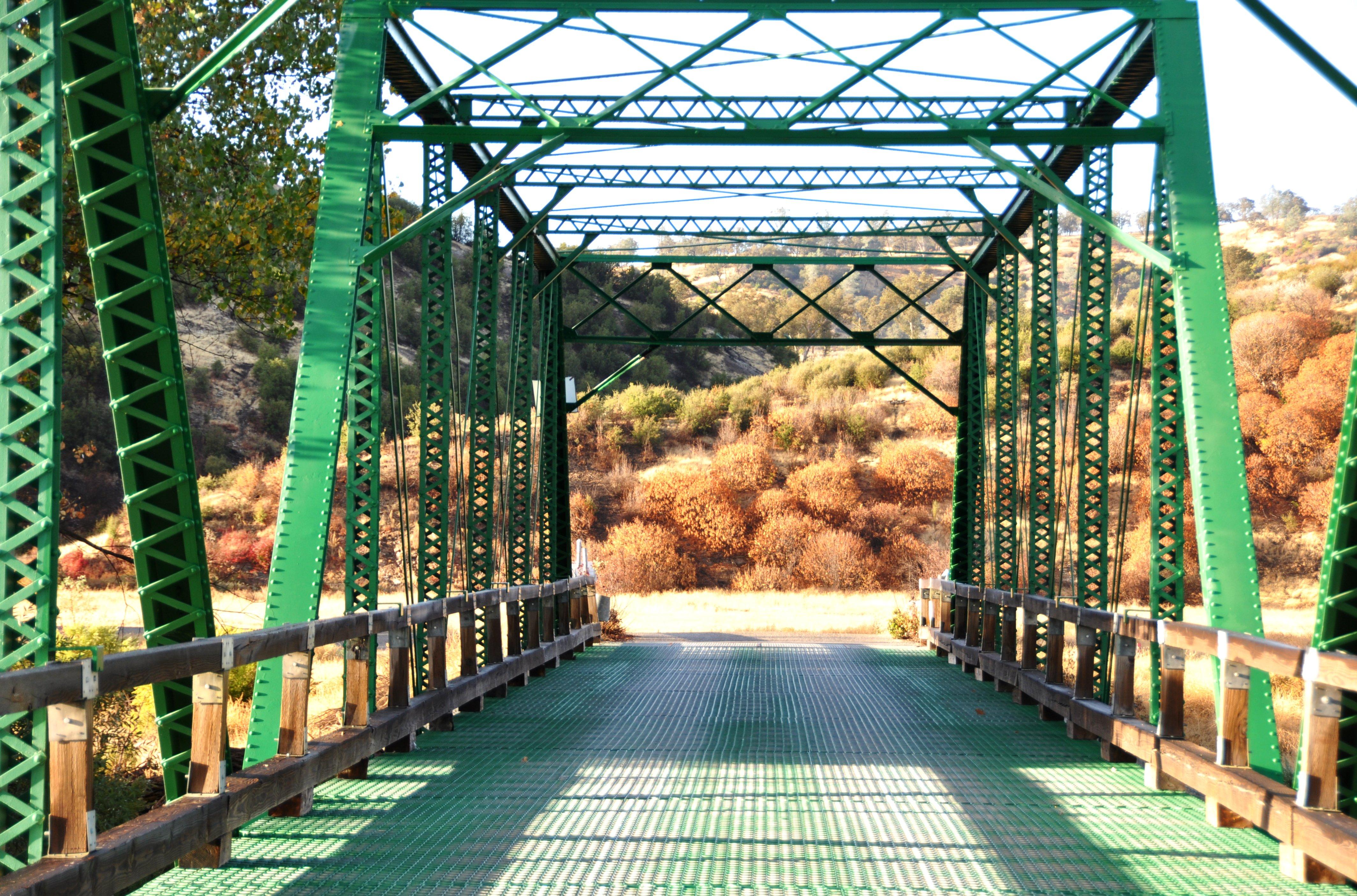 Bridge at Fort Hutner army base