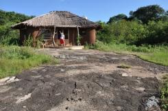 Our bungalow at Rwakobo Rock