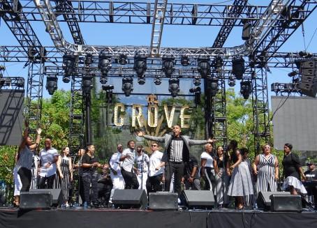 Gospel concert at the Grove