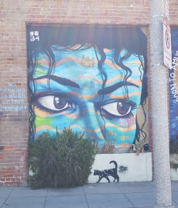 LA graffiti street art