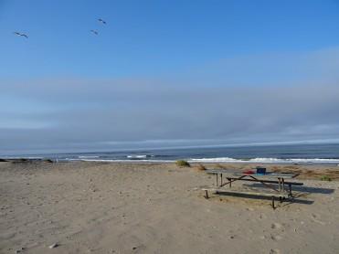 The perfect writing spot at Jalama Beach