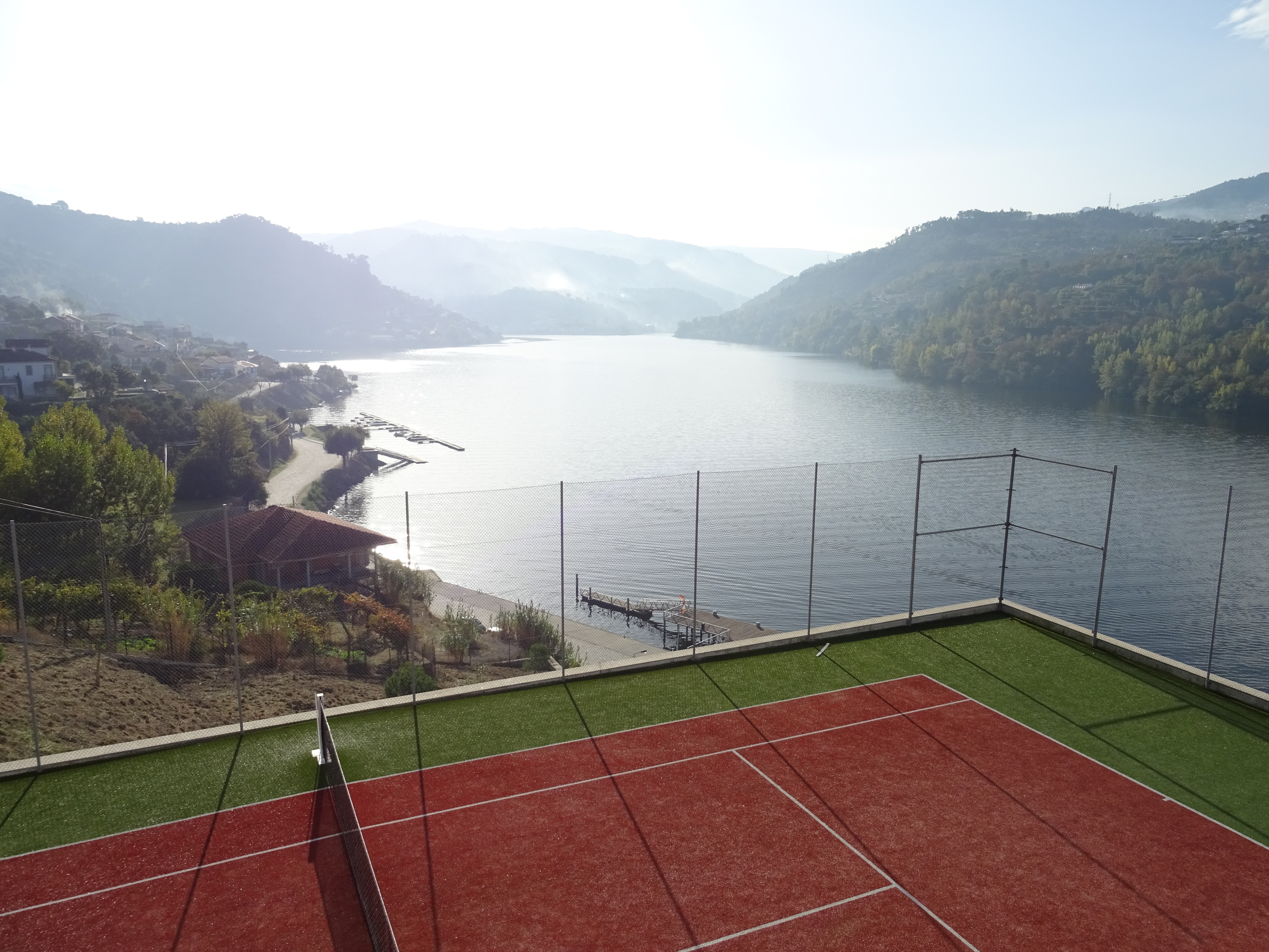 Whoever performs well at this tennis court has seen too many beautiful places in the world