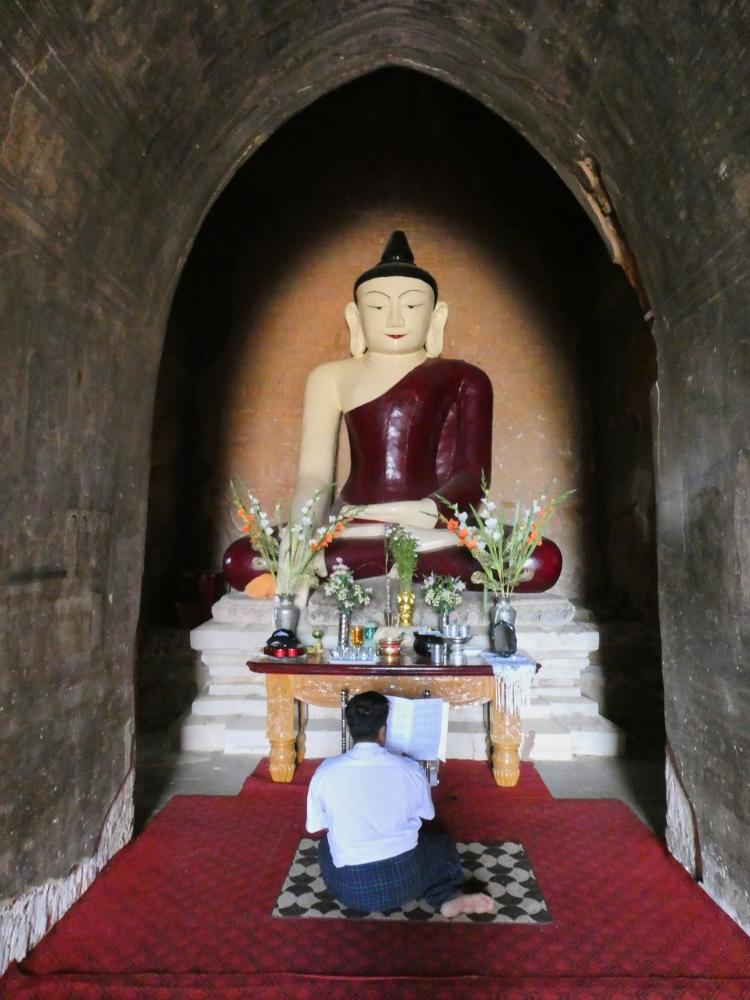 Buddha devotee