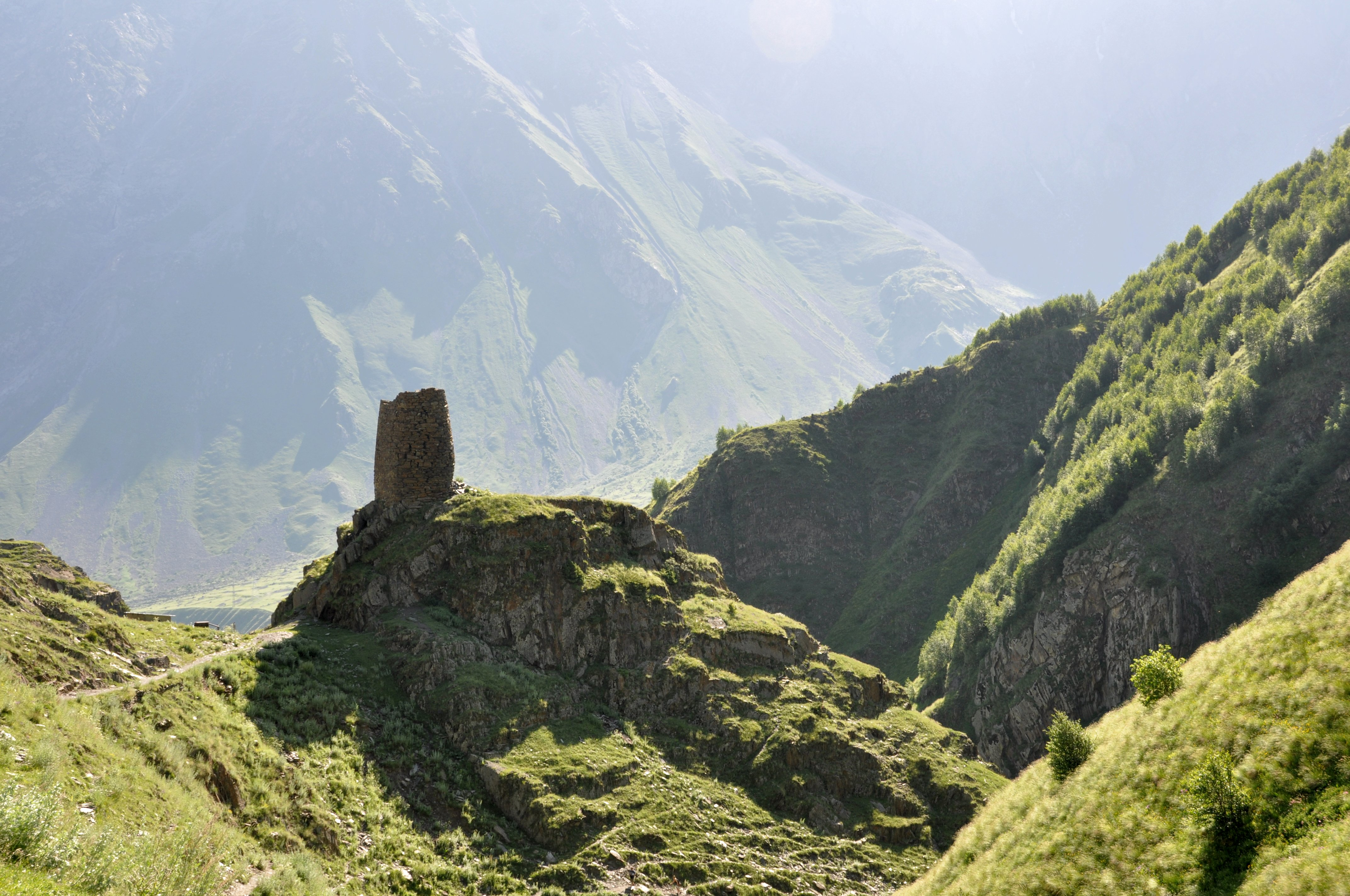 Watchtower in the Truso Valley