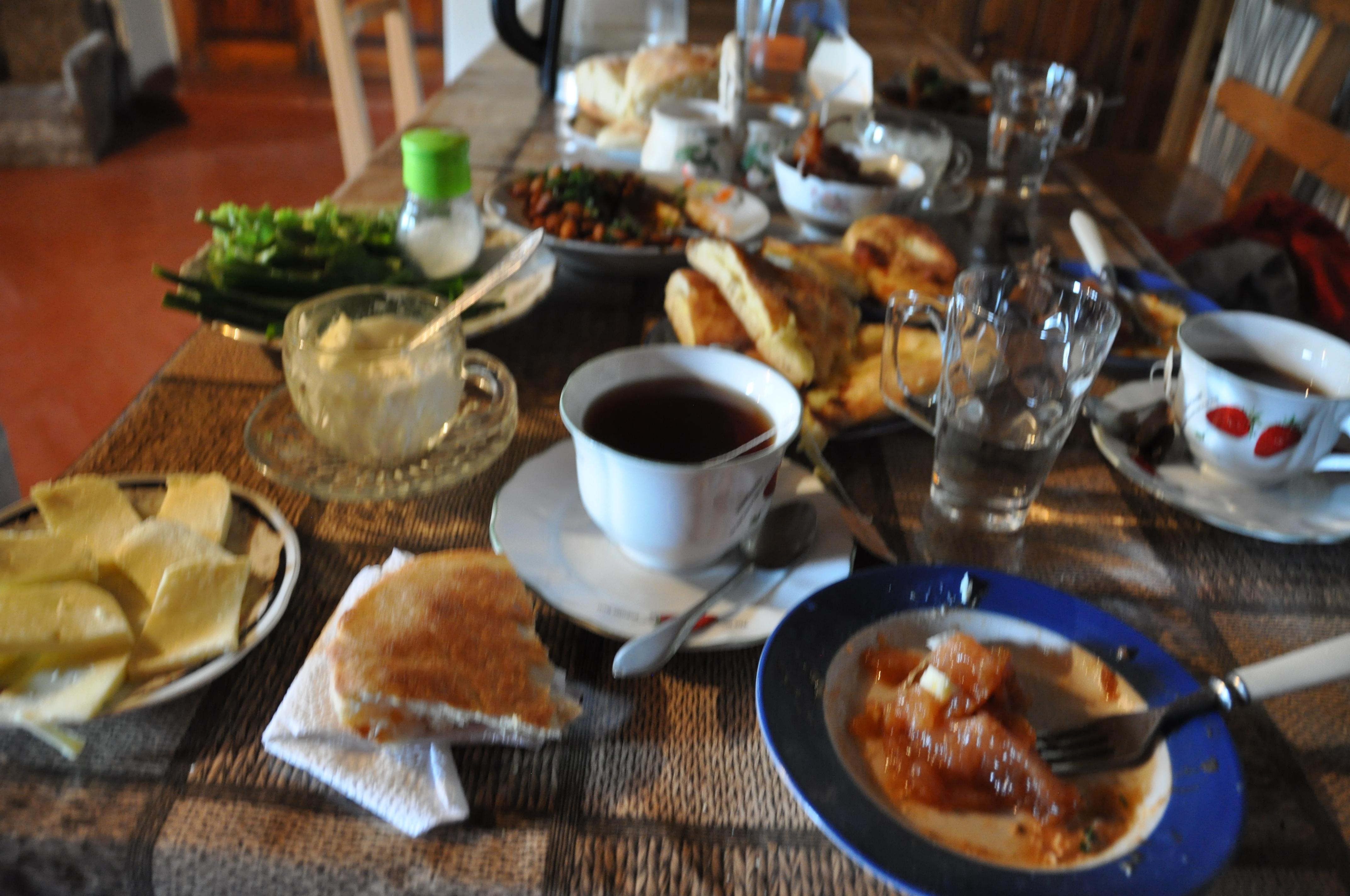 Breakfast in Svaneti